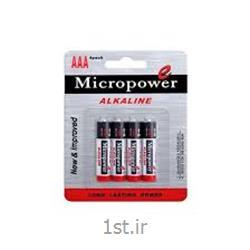 عکس سایر باتری ها (باطری ها)باطری قلمی کربن زینک 4 عددی میکروپاور