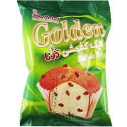 عکس کیک و شیرینیکیک طلایی کشمشی 70 گرمی درنا