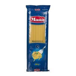 اسپاگتی 2.7 رشته ای 600 گرمی مانا