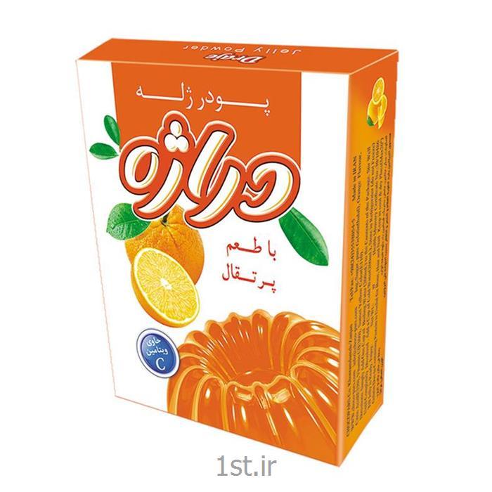 پودر ژله پرتقال 100 گرمی دراژه