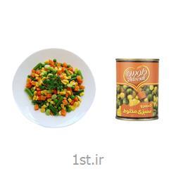 کنسرو مخلوط سبزیجات 400 گرمی دلوسه