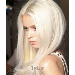 عکس آرایشگاه زنانهدکلره رنگ موی بلند (با مواد)