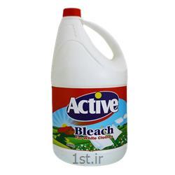 عکس مواد شوینده و پاک کنندهسفید کننده 4 لیتری اکتیو
