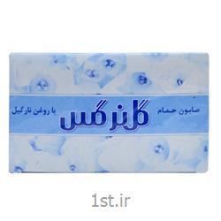 عکس صابونصابون حمام 130 بسته 6 عدد گل نرگس