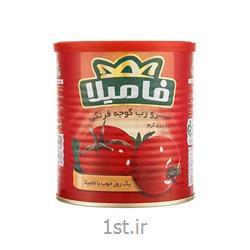 عکس گوجه فرنگیرب گوجه فرنگی 800 گرمی فامیلا