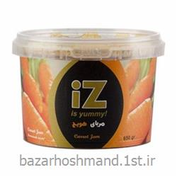 مربای هویج 650 گرمی سطلی ایز