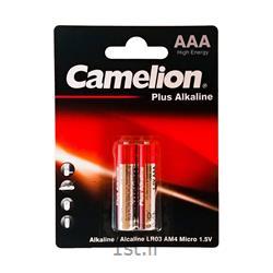 عکس سایر باتری ها (باطری ها)باطری نیم قلمی دیجی الکالاین 2 عدد کملیون