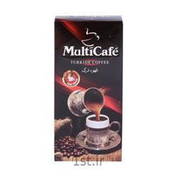عکس نوشیدنی های قهوهقهوه ترک دم کردنی 100 گرمی مولتی کافه