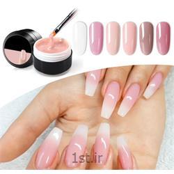 عکس آرایشگاه زنانهطراحی ساده روی هر ناخن (تاپ شاین ساده روی کاشت/ آمبره ...)