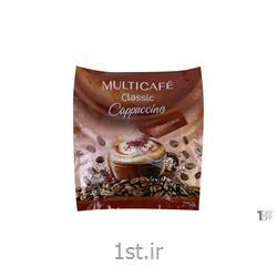 عکس نوشیدنی های قهوهکاپوچینو کلاسیک 25 گرم 10 عددی مولتی کافه
