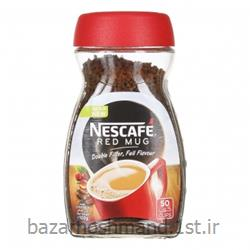 عکس نوشیدنی های قهوهقهوه فوری نسکافه رد ماگ 100 گرمی نستله