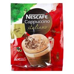 عکس پودر قهوه و کاکائوکاپوچینو همراه با پودر شکلات 20 عددی نستله