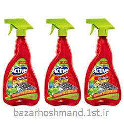 عکس مواد شوینده و پاک کنندهپاک کننده سطوح آشپزخانه قرمز 700 اکتیو