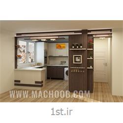 عکس کابینت آشپزخانهکابینت ام دی اف مات ( MDF ) با قیمتی ویژه