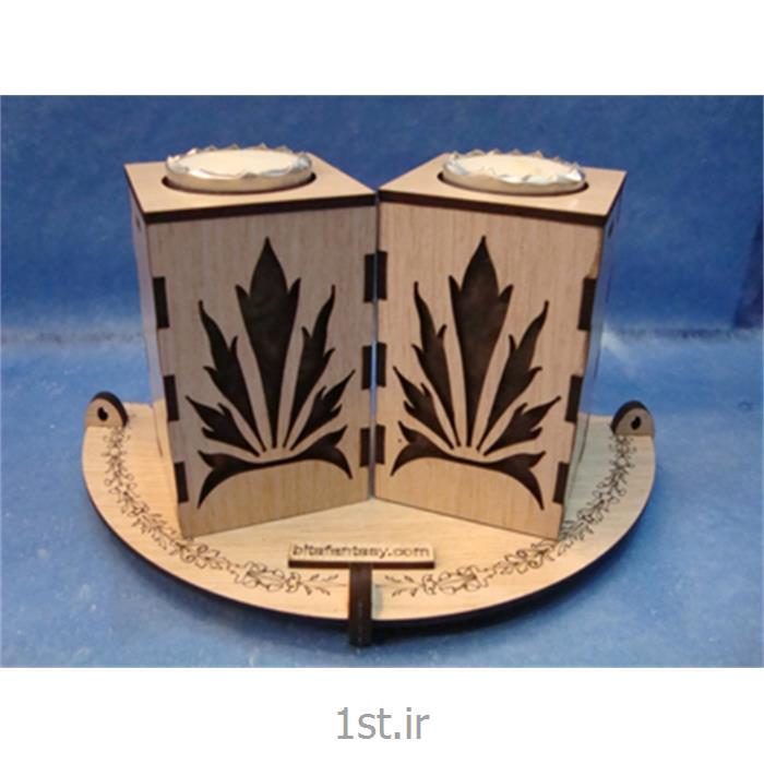 عکس پایه شمع (شمعدان)جاشمعی گلسا