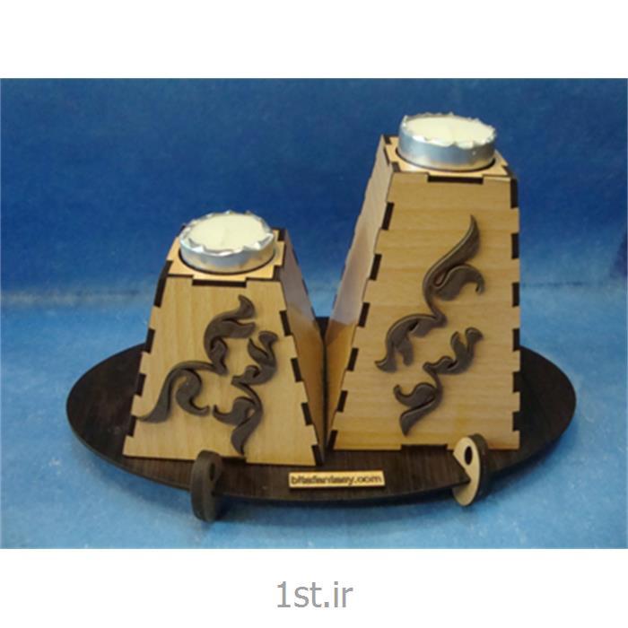 عکس پایه شمع (شمعدان)جاشمعی لومانا