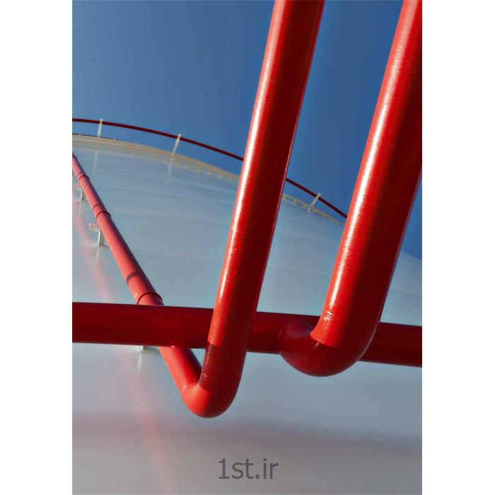 عکس رنگ و پوشش صنعتیرنگ رویه اپوکسی سازه های فولادی و فلزی