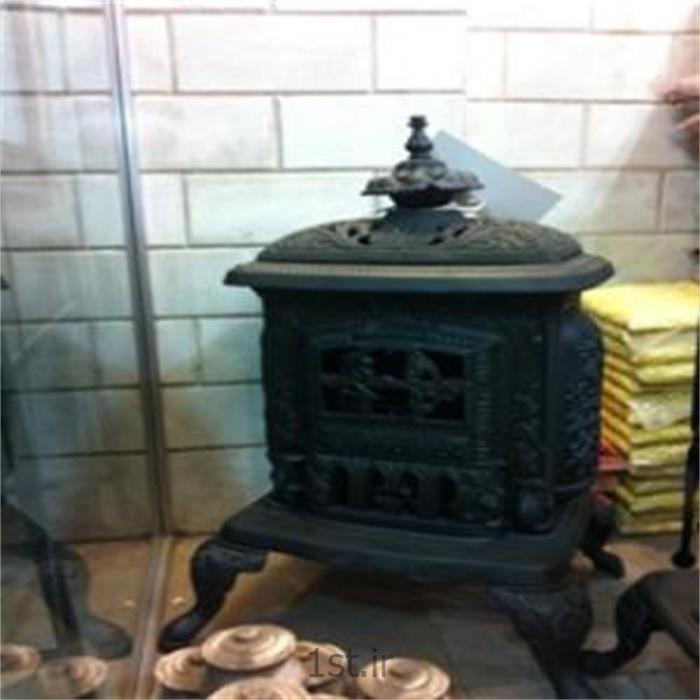 شومینه چدنی مدل بخاری قدیمی برای فضای باز