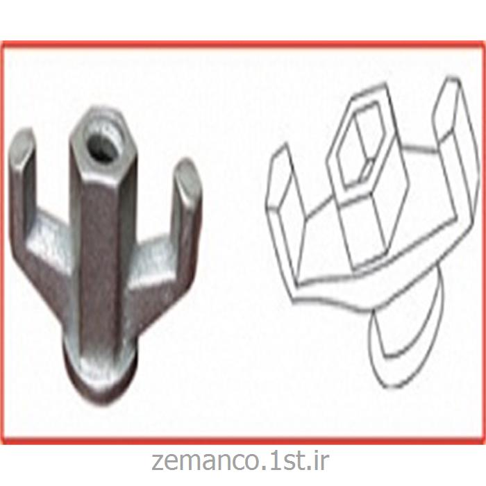 تجهیزات اتصالات قالب بتن مهره بلت