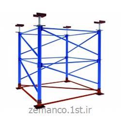 عکس داربست فلزیداربست ساختمانی مثلثی