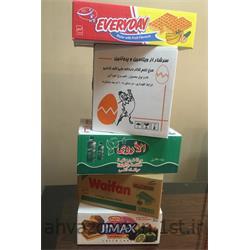 عکس جعبه بسته بندیکارتن 3 لایه بسته بندی مواد غذایی