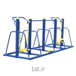 عکس تجهیزات بدن سازی ( تناسب اندام ) فضای بازوسایل وزشی فضای باز (پارکی )