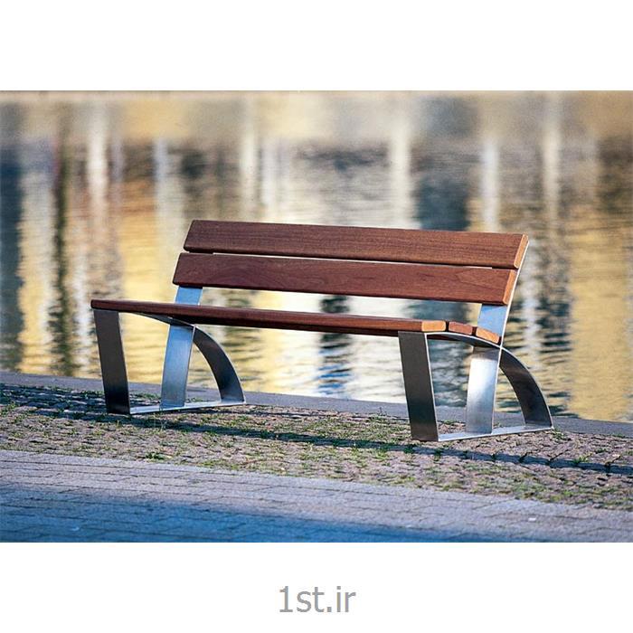عکس نیمکتنیمکت پارکی چوبی