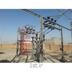 بریکر ( کلید قدرت ) 33 کیلوولت برق سه فاز