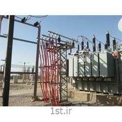 عکس ترانسفورماتور هاترانسفورماتور قدرت سه فاز با توان 50MVA ولتاژ 132/20 کیلوولت