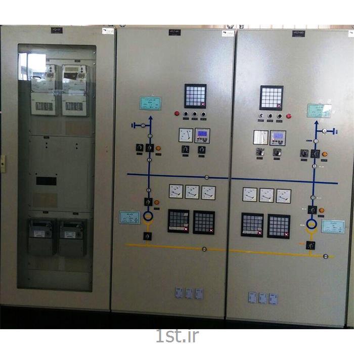 عکس تابلو برقتابلو کنترل و تابلو اندازه گیری فیدر 63 کیلوولت