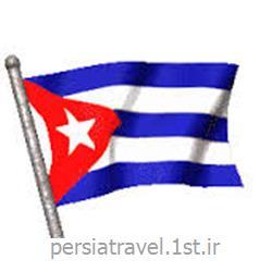 عکس ویزااخذ ویزا برای کوبا