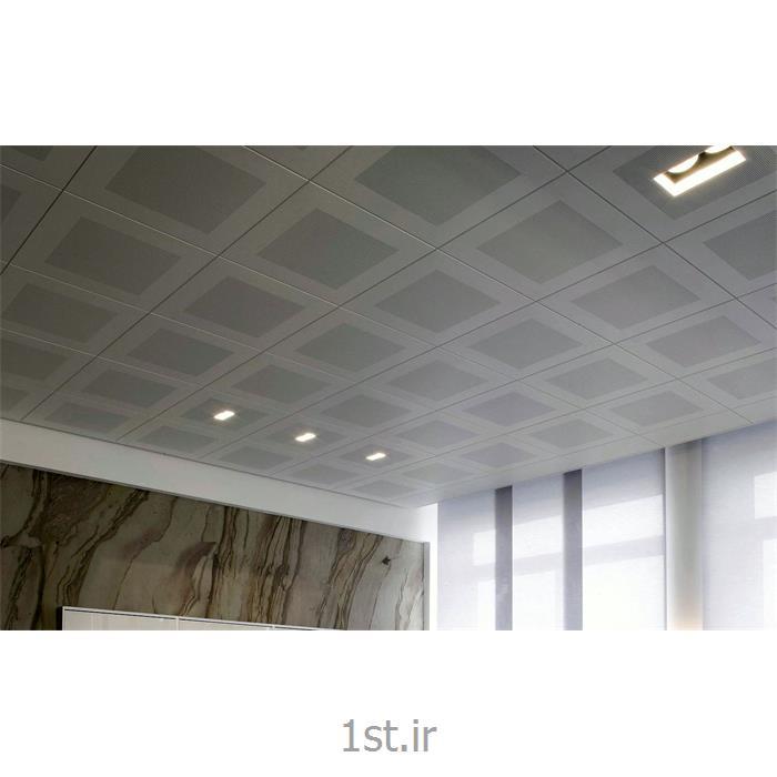 عکس اجزای سقف شبکه ایاجرای سقف کاذب تایل سازه پنهان