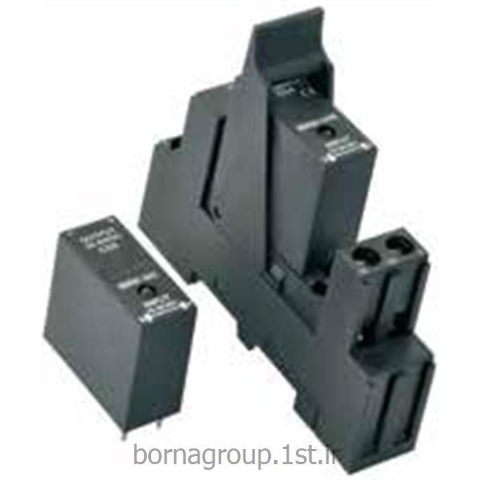 رله ssr (اس اس آر) سالید استیت 5 آمپر الکو elco ایتالیا LED دار مدل: SSR90