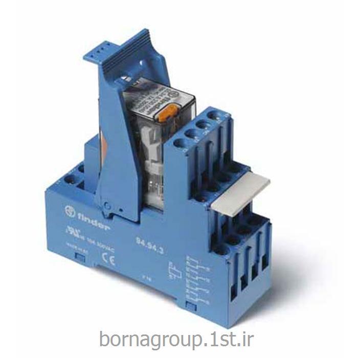رله 14 پایه الکترومکانیکی 4 کنتاکت فیندر (فایندر) finder کد:55348230