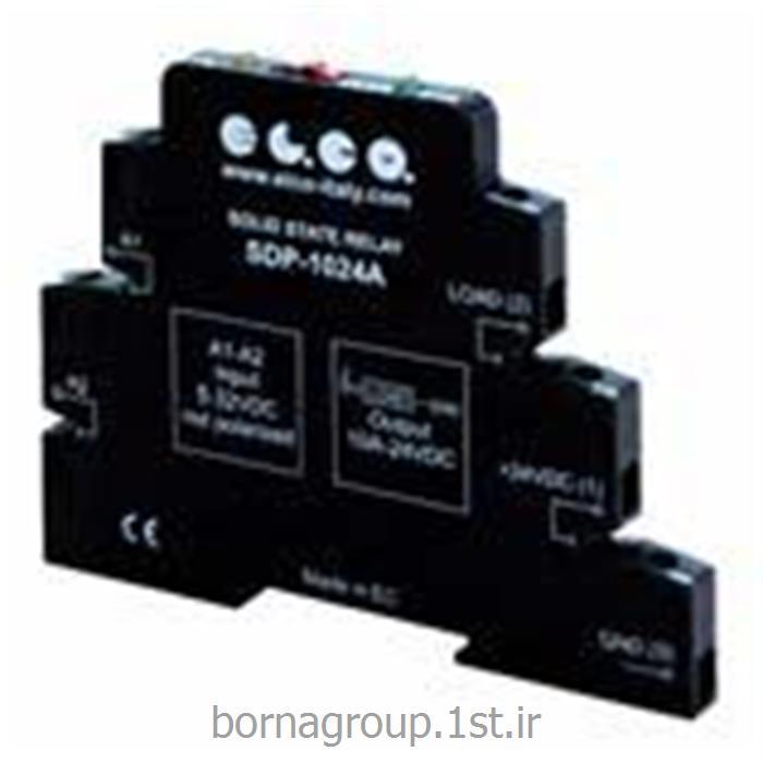 رله اینترفیس 10 آمپر اس اس آر SSR برند الکو ELCO ایتالیا کد :SDP-1024A