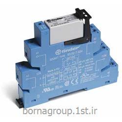 رله فیندر (فایندر) finder ایتالیا ماژول PLC الکترو مکانیکی دو پل 6 آمپر مدل 385270240050