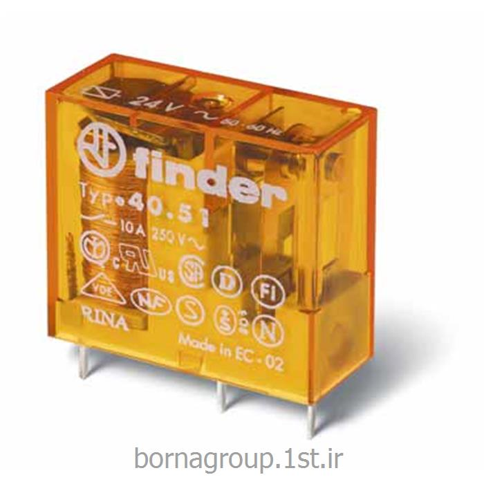 رله فیندر (فایندر ) finder تک کنتاکت 10 آمپر مدل 405190240000