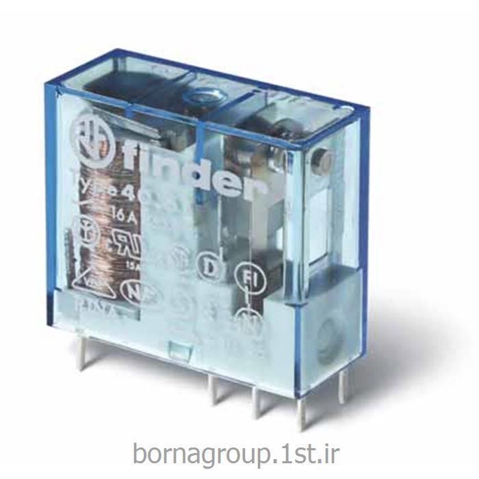 رله فیندر (فایندر) 6 ولت دی سی 16 آمپر finder مدل : 4061700600000