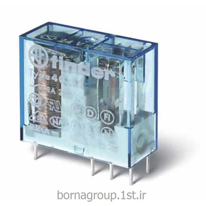 رله فیندر (فایندر ) 24 ولت dc 2 کنتاکت مدل:405290240000