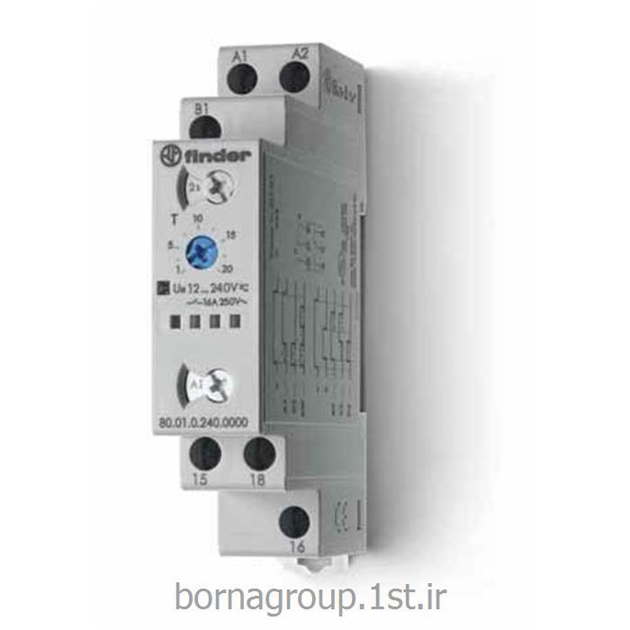 تایمر مولتی ولتاژ مولتی رنج فیندر (فایندر) ایتالیا کد 8001