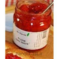 مربا توت فرنگی رژیمی دیابتی با شیرین کننده استویا