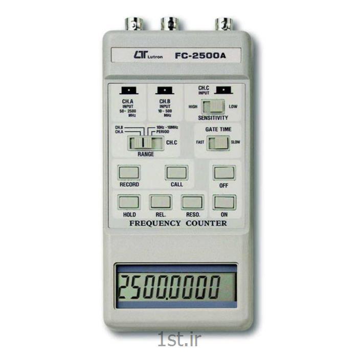 عکس فرکانس مترفرکانس متر لوترون مدل (FC-2500-FREQUENCY COUNTER)