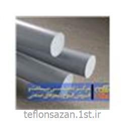 عکس میله پلاستیکیمیلگرد PVC سخت قطر 20 میلیمتر