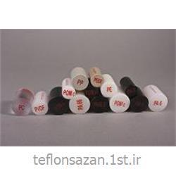عکس میله پلاستیکیمیلگرد پلی آمید PA6 قطر 20 میلیمتر