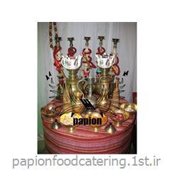برگزار کننده چایخانه سنتی کوچک در مراسم ها