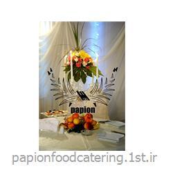 گل آرایی میز گرد