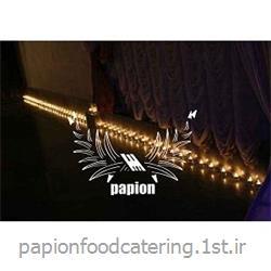 عکس طراحی روشنایی و نورپردازینورآرایی با شمع ( شمع آرایی )