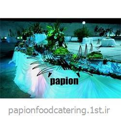 عکس لوازم برگزاری مراسم عروسیگل آرایی میز شام