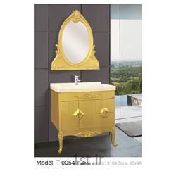 کابینت تمام pvc دستشویی و حمام مدل 0054 T