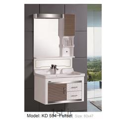 عکس کمد حمام و توالتکابینت تمام pvc دستشویی و حمام مدل KD 534